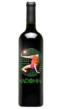 Madonna Green Etched Disco Ball - 2005 Cab/Mer - SOLD OUT!