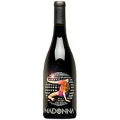 Madonna Silver Etched Disco Ball - 2004 Syrah - SOLD OUT!