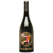 Madonna Gold Etched Disco Ball - 2004 Syrah - SOLD OUT!